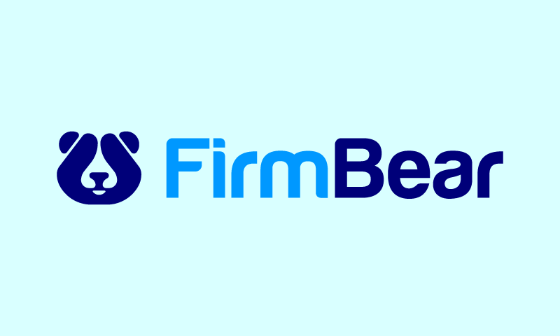Firmbear - Modern domain name for sale