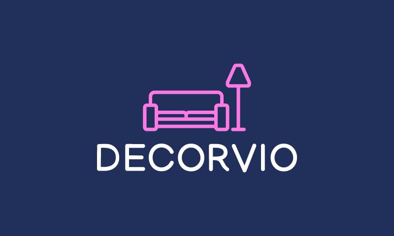 Decorvio - Interior design company name for sale