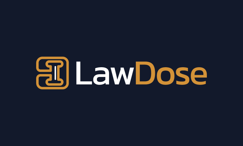 Lawdose - Legal company name for sale