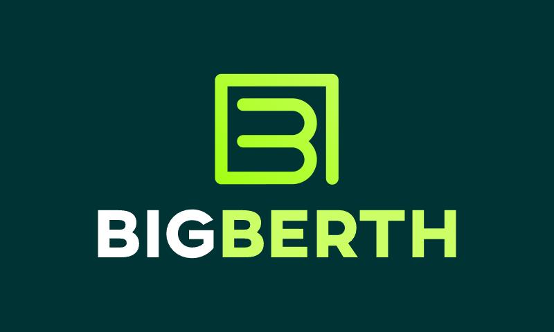 Bigberth - Retail domain name for sale