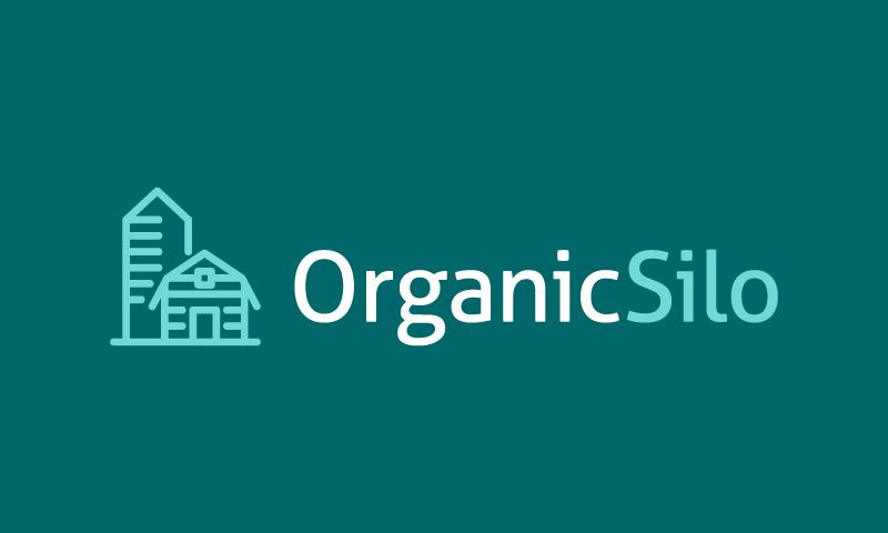 Organicsilo - Environmentally-friendly business name for sale