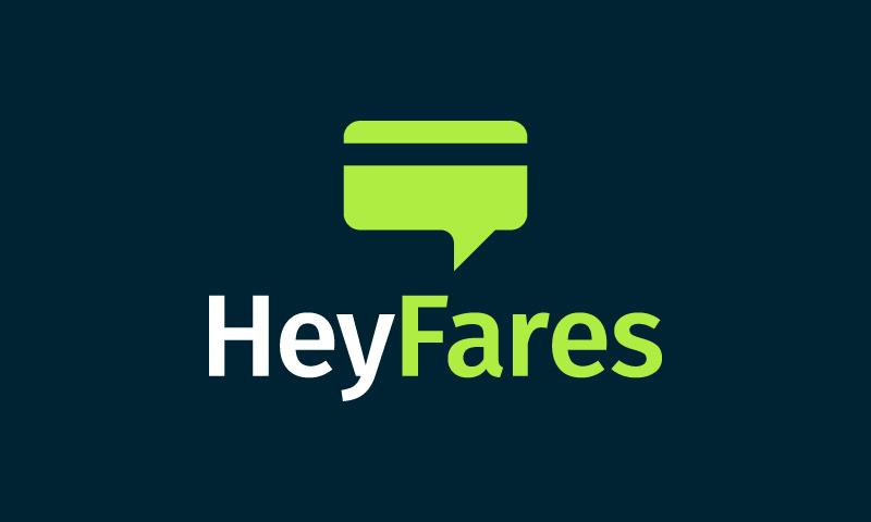 Heyfares - Travel company name for sale