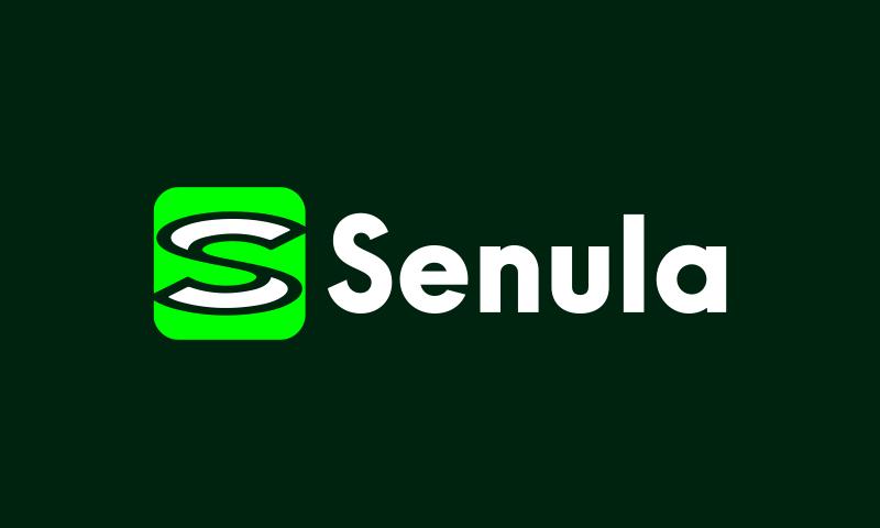 Senula - E-commerce business name for sale