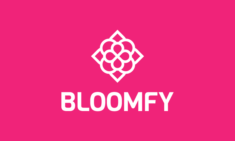 Bloomfy - Contemporary startup name for sale