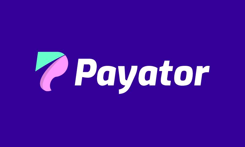 Payator - Loans brand name for sale