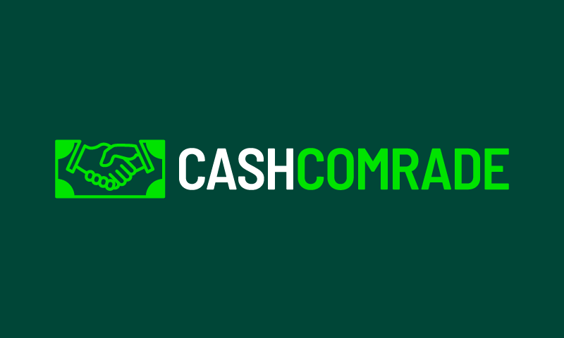 Cashcomrade - Finance startup name for sale