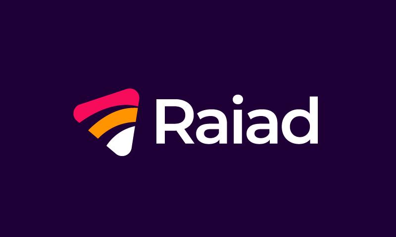 Raiad - Advertising domain name for sale