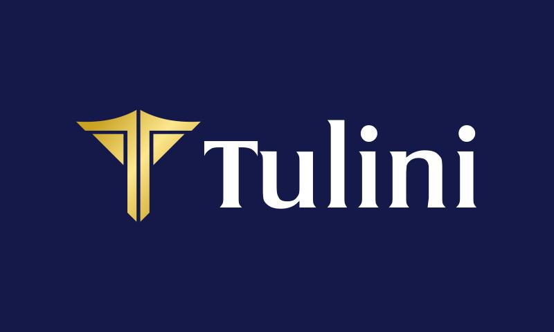 Tulini - Original domain name for sale