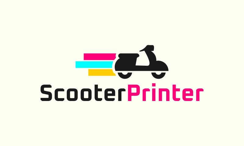 Scooterprinter - Transport startup name for sale