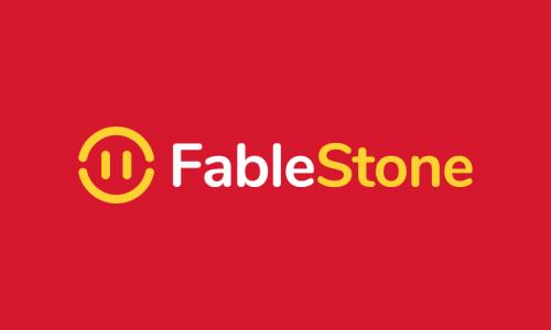 Fablestone - Audio brand name for sale