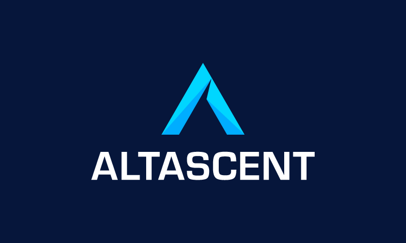 Altascent - Cryptocurrency startup name for sale