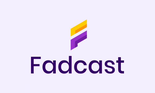 Fadcast - Retail domain name for sale