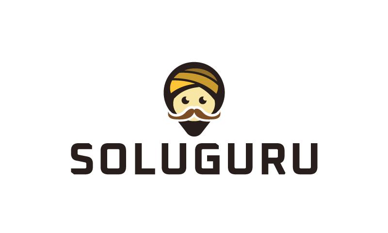 Soluguru - Brandable brand name for sale