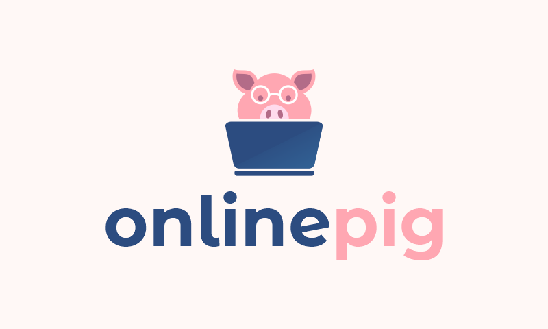 Onlinepig - E-commerce business name for sale