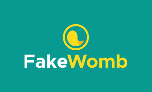 Fakewomb - Childcare startup name for sale