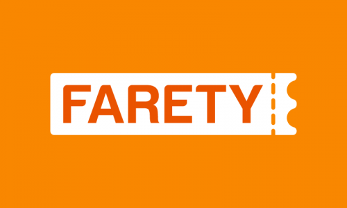 Farety - Ticketing brand name for sale