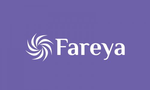 Fareya - Contemporary brand name for sale