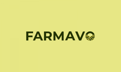 Farmavo - Farming startup name for sale