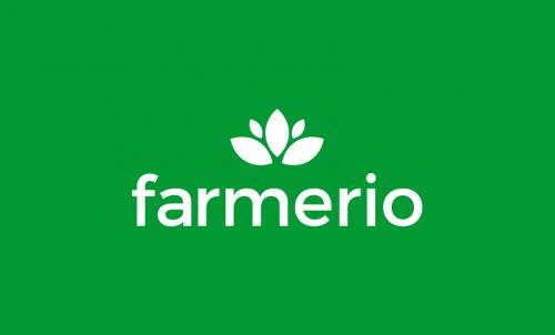Farmerio - Farming brand name for sale