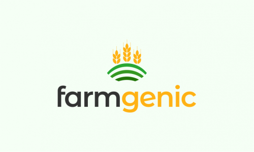 Farmgenic - Agriculture startup name for sale