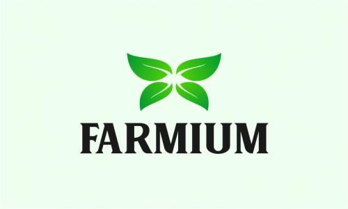 Farmium - Farming brand name for sale