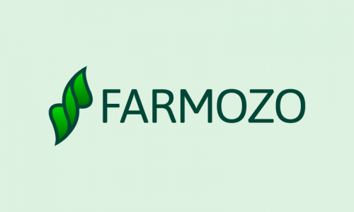 Farmozo - Agriculture startup name for sale
