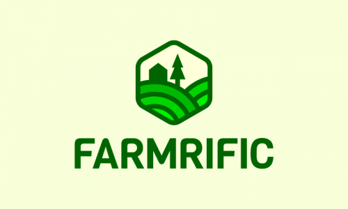 Farmrific - Agriculture company name for sale