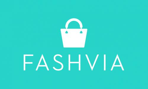 Fashvia - Fashion company name for sale
