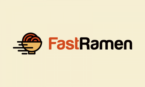 Fastramen - Food and drink business name for sale