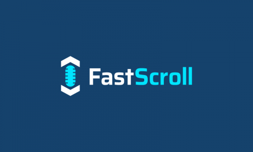 Fastscroll - Marketing brand name for sale