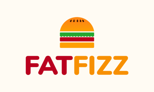 Fatfizz - Food and drink company name for sale