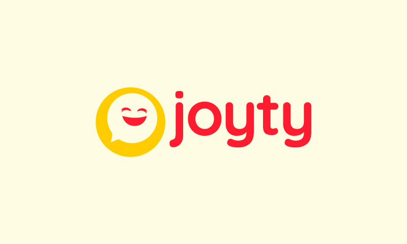 Joyty - Contemporary domain name for sale