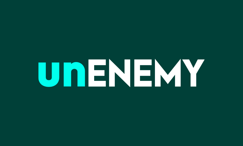 Unenemy - E-commerce business name for sale