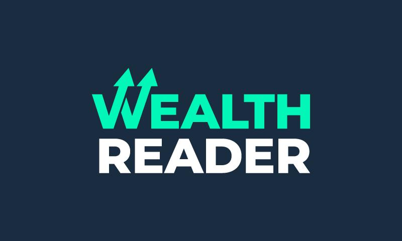 Wealthreader - Business brand name for sale