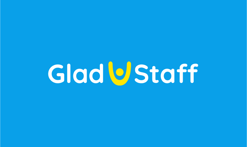 Gladstaff - Recruitment startup name for sale