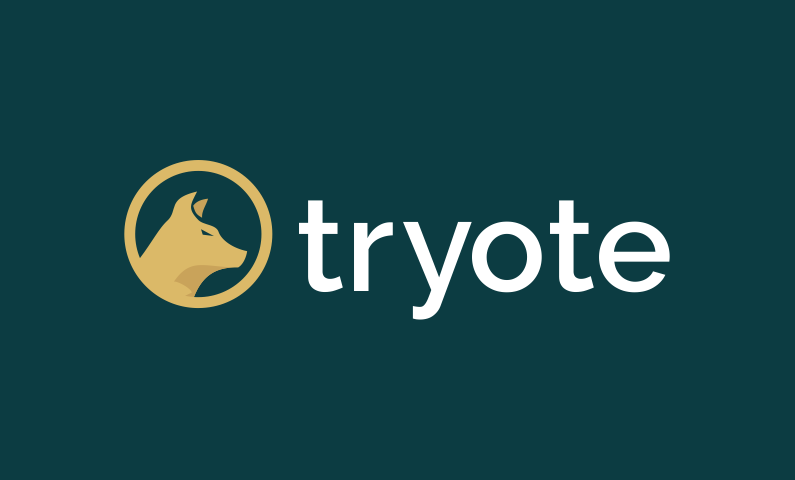 Tryote - Contemporary domain name for sale