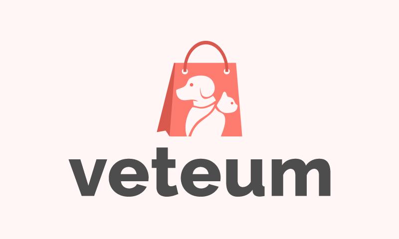Veteum - Veterinary startup name for sale