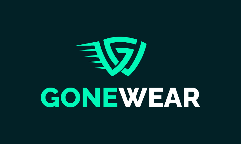 Gonewear - E-commerce startup name for sale