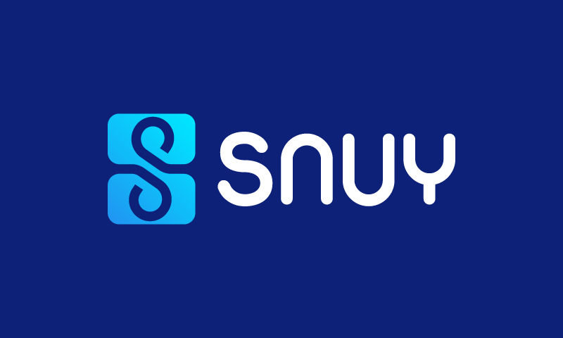 Snuy - E-commerce startup name for sale
