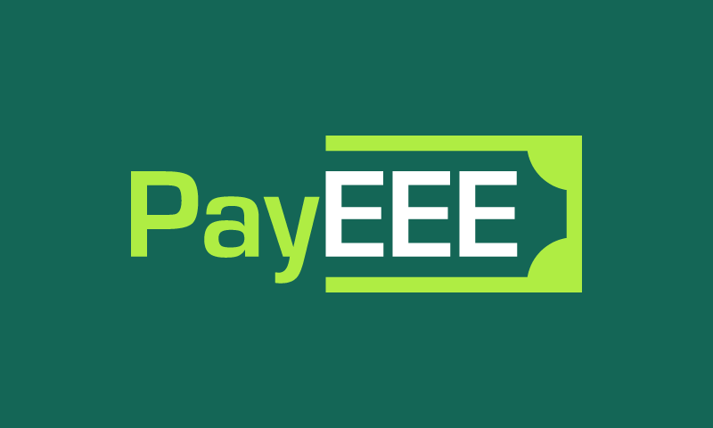 Payeee - Payment startup name for sale