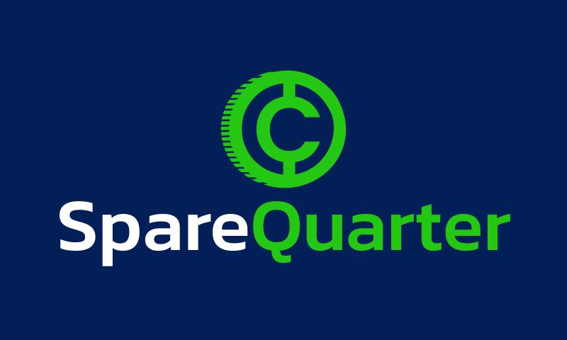 Sparequarter - Marketing domain name for sale