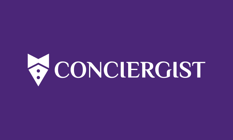 Conciergist - E-commerce startup name for sale