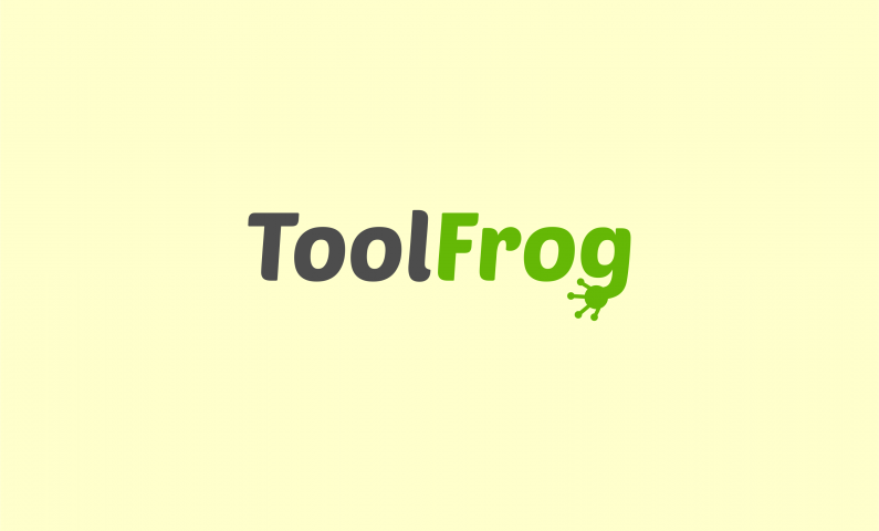 Toolfrog - Contemporary business name for sale