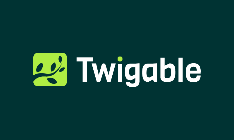 Twigable - E-commerce company name for sale