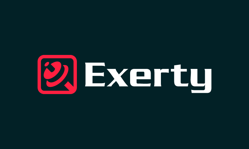 Exerty - Retail startup name for sale