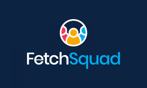 Fetchsquad - Modern business name for sale