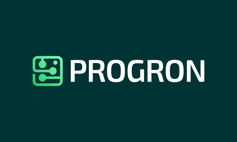 Progron - Software startup name for sale