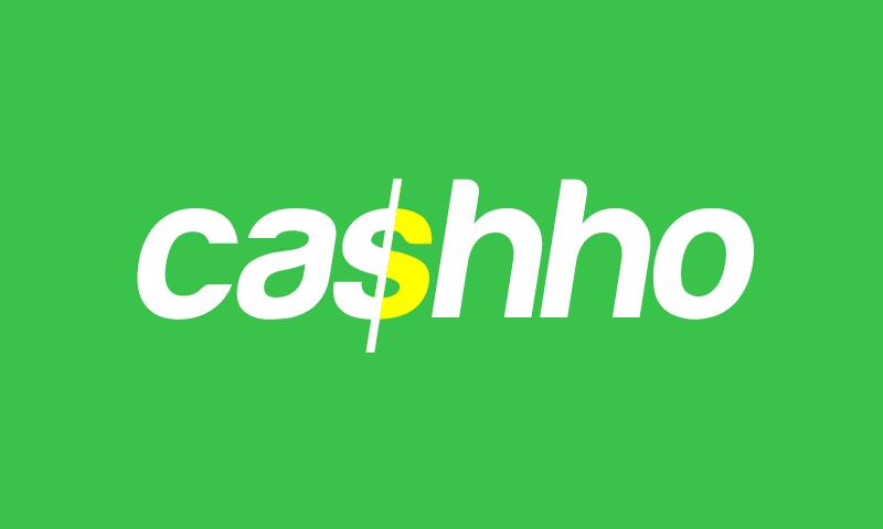 Cashho - Finance domain name for sale
