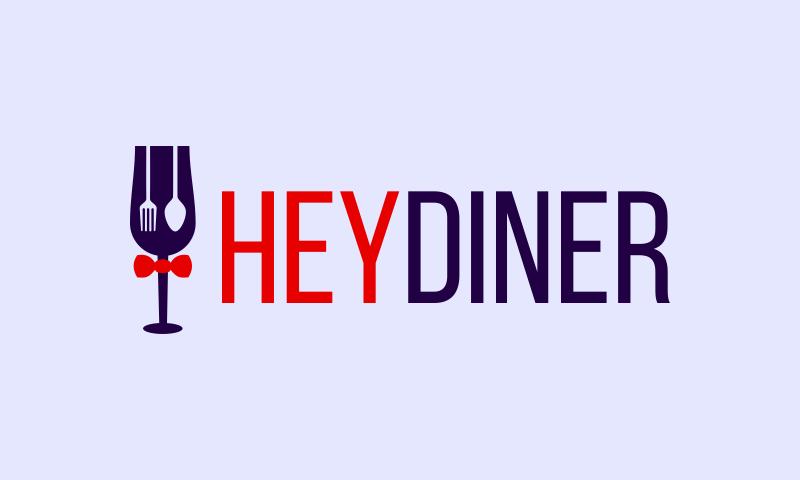 Heydiner - Hospitality domain name for sale