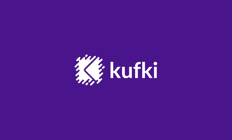 Kufki - Modern startup name for sale